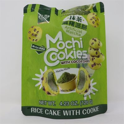 ROYAL FA. MOCHI COOKIES MATCHA 120gr